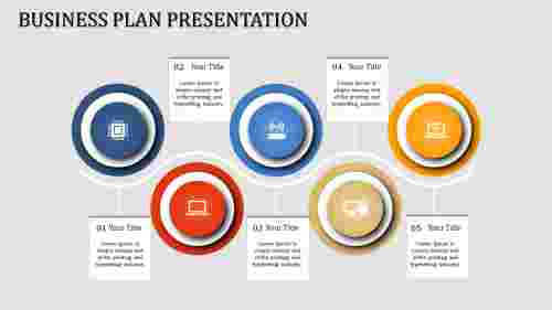 visualize business timeline powerpoint template