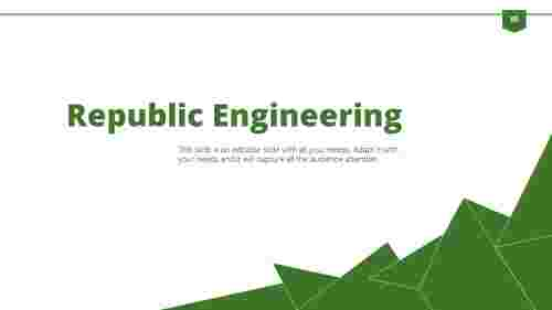 engineering powerpoint presentation template
