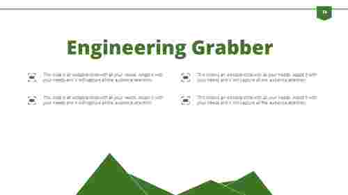 Engineering powerpoint presentation template-Triangle Model