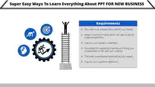 PPT for new business plan ladder model