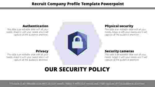 Company Profile Template Powerpoint-Security Policy