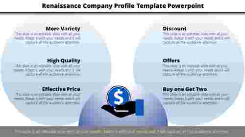 company profile template powerpoint- circle