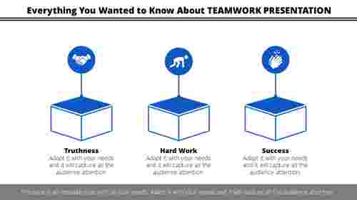 Cubes teamwork presentation