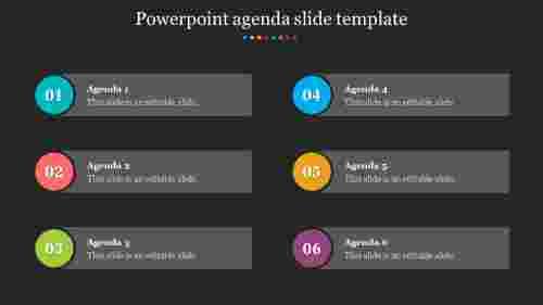 Best Powerpoint Agenda Slide Template presentation