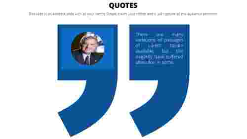 Best PowerPoint quote template
