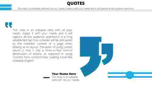 powerpoint quote template