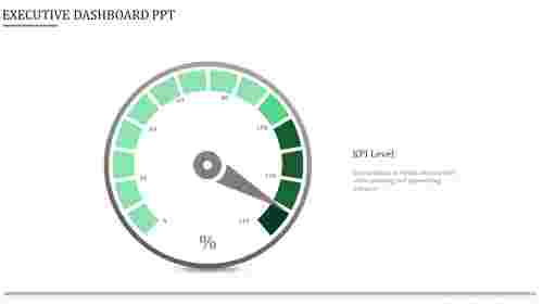 executive dashboard ppt