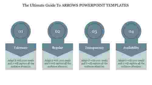 Editable Arrows Powerpoint Templates