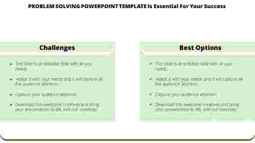 Techniques To Improve Problem Solving Powerpoint Template