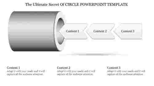 Things To Observe In Circle Powerpoint Template