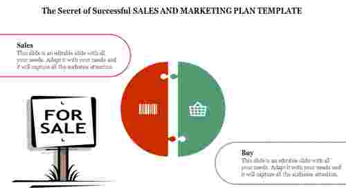 Sales And Marketing Plan Template design