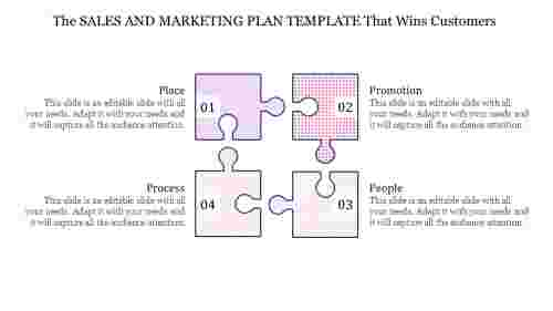 Simple sales and marketing plan template download