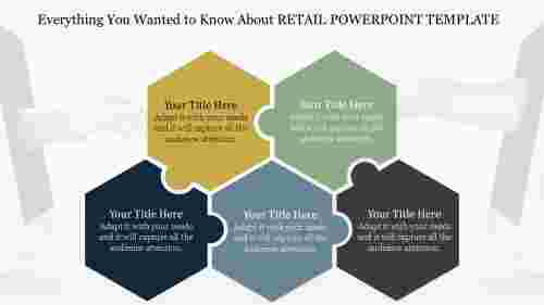 Puzzle Retail Powerpoint Template