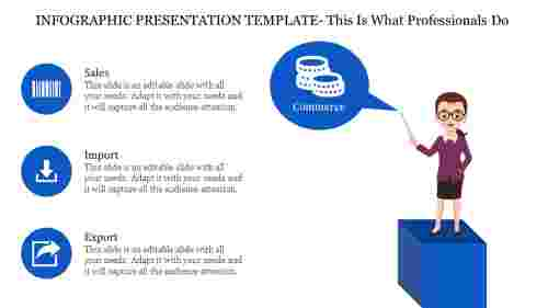 Infographic Presentation Template - Commerce