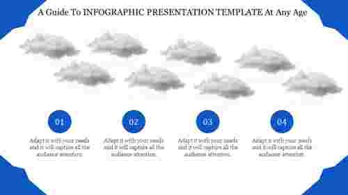 Infographic Presentation Template - Cloud model