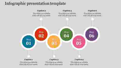 Circle Infographic Presentation Template
