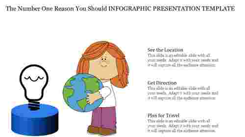Search location Infographic Presentation Template