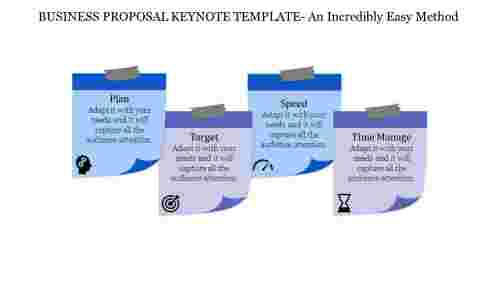 Free business proposal keynote template- TextBox