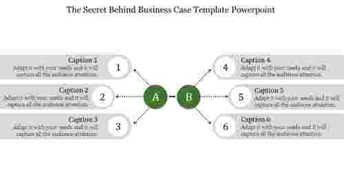 Free business case template powerpoint- business strategy