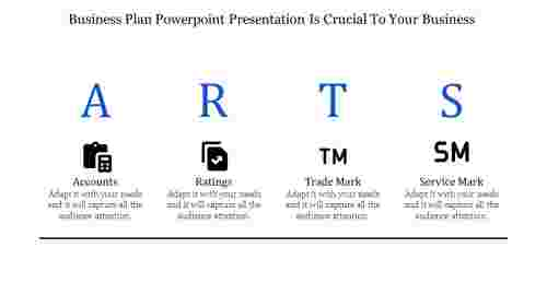 business plan powerpoint presentation for ARTS