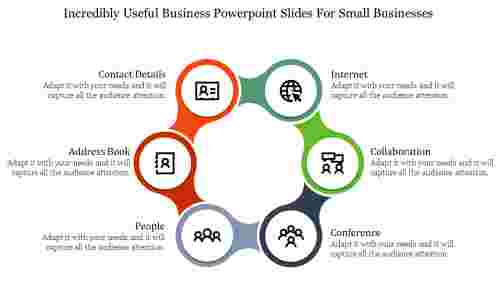 Circle Model Business PowerPoint slides