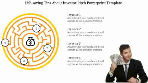 Logical model Investor Pitch Powerpoint Template