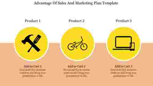 sales and marketing plan template PowerPoint