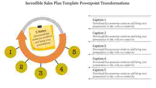 sales plan template powerpoint