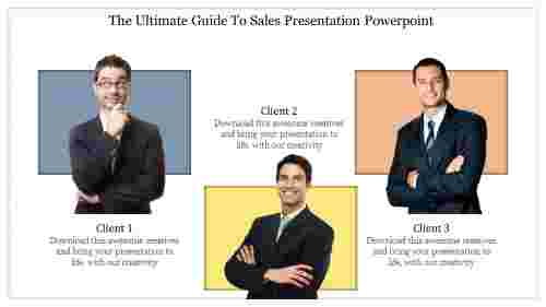 Sales Presentation Powerpoint for clients