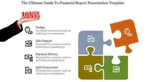 financial report presentation template