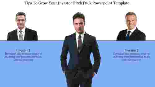Executive investor pitch deck powerpoint template