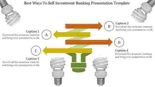 Investment banking presentation template-bulb model