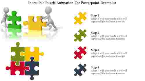 puzzle animation for powerpoint