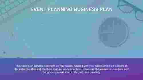 event planning business plan PowerPoint
