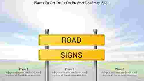 product roadmap slide-Places To Get Deals On Product Roadmap Slide