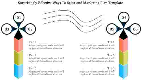 Different Sales And Marketing Plan Template