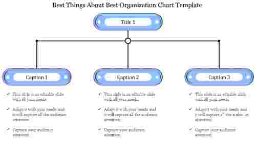 best organization chart template in hierarchy model