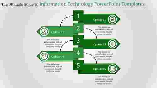 information technology powerpoint templates-The Ultimate Guide To Information Technology Powerpoint Templates-5-Green