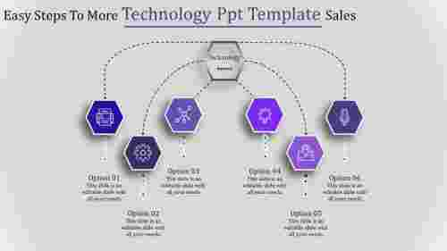 technology ppt template-Easy Steps To More Technology Ppt Template Sales-6-Purple