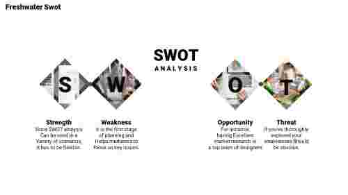 marketing swot analysis template-Freshwater-Swot