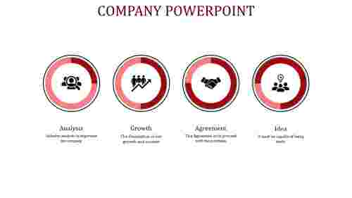 company powerpoint-company powerpoint-4-Red