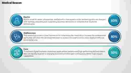 Medical powerpoint templates-Layered Horizondal