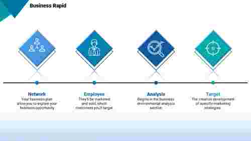 top business powerpoint templates- Diamond design