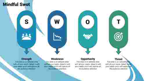 swot ppt template-Mindful -Swot