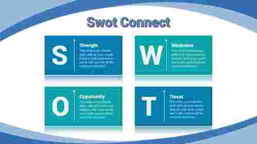 swot ppt template-Swot -Connect