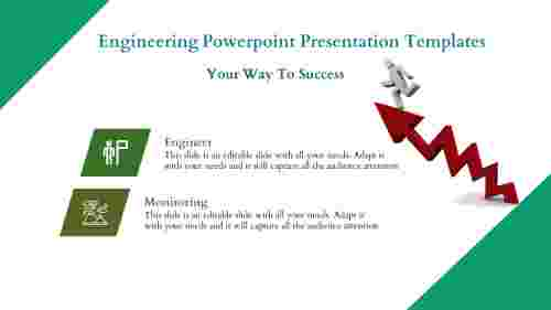Engineering PowerPoint Presentation Template - Arrow Model