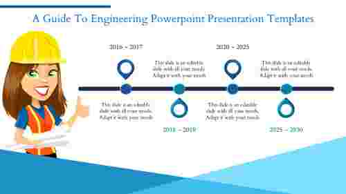 Engineering PowerPoint Presentation Template - Timeline