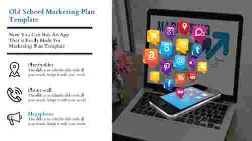 Marketing Plan Template Presentation Slide Model