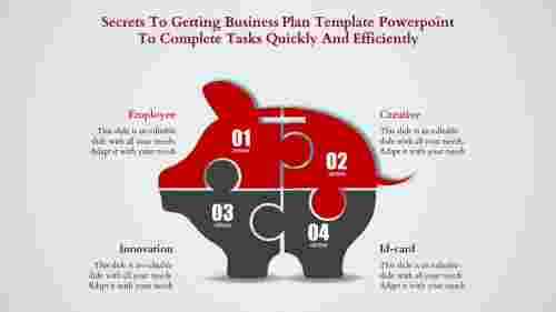 business plan template powerpoint-The BUSINESS PLAN TEMPLATE POWERPOINT