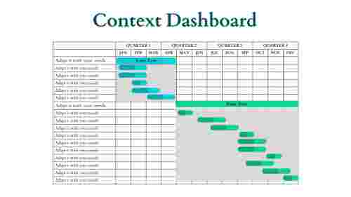 business powerpoint presentation-Context Dashboard